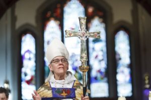 New primate foresees time of change for national church